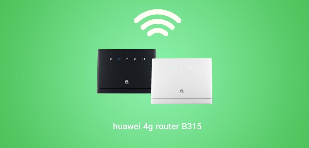 مودم روتر هوآوی بی سیم ۴G مدل LTE CPE B315