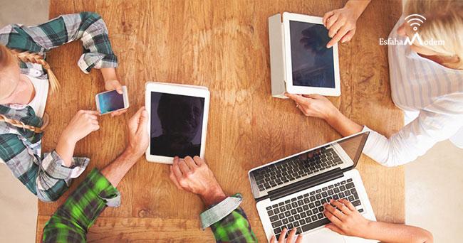 عوامل موثر بر سرعت اینترنت